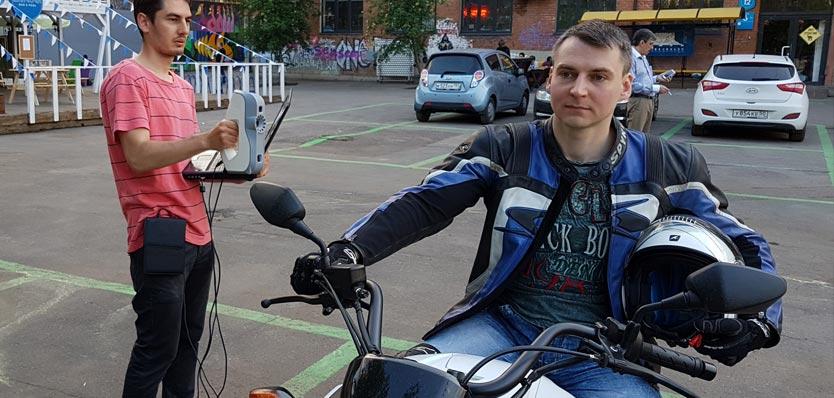 Мотоциклисту