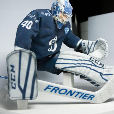3D фигурка подарок хоккеисту